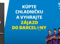 Vyhrajte zájazd do Barcelony pre 4 osoby na celý týždeň alebo niektorý zo spotrebičov Beko!