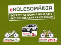 Kolesománia, spotrebiteľská súťaž v predajniach COOP Jednota