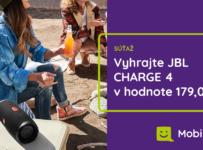 Súťaž o JBL CHARGE 4