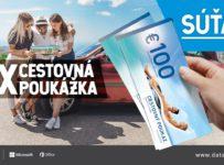 Súťaž o cestovné poukazy v hodnote 300€