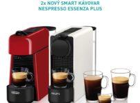 Súťaž o kávovar Nespresso Essenza Plus