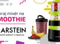Súťaž o stolný mixér Klarstein Vitalic na prípravu smoothie