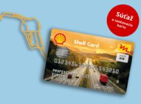 Súťaž o tankovaciu kartu Shell v hodnote 50 €