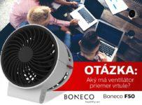 Súťaž o ventilátor značky BONECO