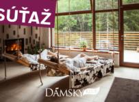 Súťaž s Dámskym klubom - vyhrajte pobyt pre 2 osoby vo wellness hoteli