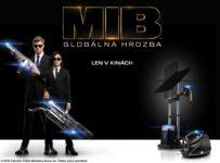 Súťaž s filmom MIB Globálna hrozba vstupenky do kín CINEMAX