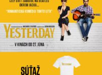 Súťaž s filmom Yesterday o 3 tričká