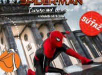Súťaž so Spidermanom o letenky do Londýna alebo Berlína