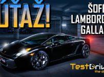 Vyhraj zážitkovú jazdu ako vodič v Lamborghini Gallardo