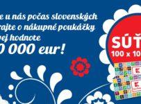 Nakúpte počas slovenských dní a vyhrajte 100 x 100€