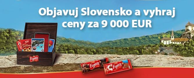 Objavujte Slovensko a vyhrajte ceny v hodnote 9 000 Eur