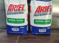 Súťaž o 2×15kg Ariel alfa profesionál v hodnote 70€