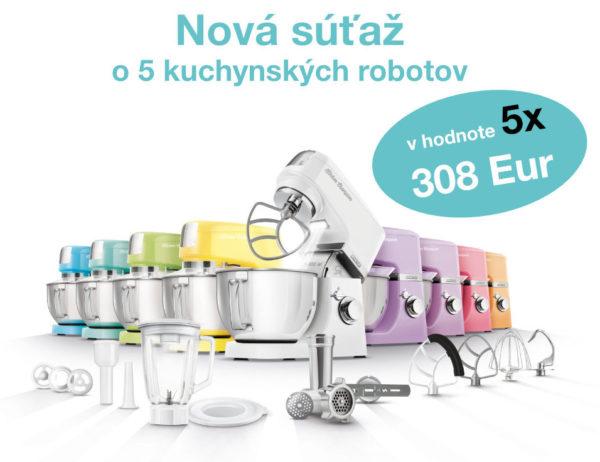 Súťaž o 5x kuchynský robot SENCOR