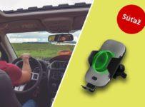Súťaž o držiak do auta s bezdrôtovým nabíjaním