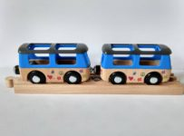 Súťaž o drevený autobus