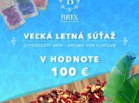 Súťaž o mrazom sušené ovocie Brix v hodnote 100€