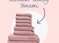 Súťaž o sadu uterákov a osušiek značky Bonami