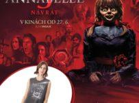 Súťaž o tričko s motívom hororu Annabelle 3 Návrat