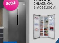 Súťaž s Möbelixom o americkú chladničku značky Concept