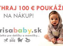 Vyhraj 100 € poukážku na nákup pre svoje dieťatko