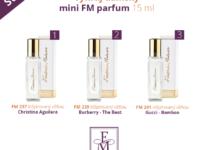 Vyhrajte FM dámsky mini parfum 15 ml podľa vlastného výberu