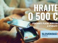 Hrajte o 500 € so Slovenskou sporiteľňou