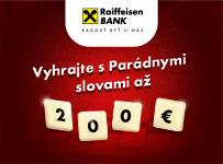 Vyhrajte s Parádnymi slovami 200€