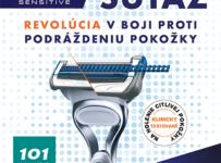 Súťaž o 10 darčekových balíčkov s produktami Gillette Skinguard