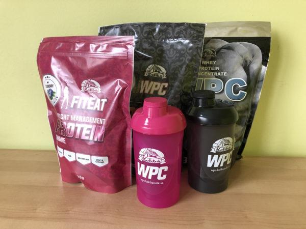 Súťaž o 2 balíčky proteínu KOLIBA WPC 80 s odmerkou