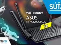 Súťaž o 2x ASUS RT-AC1200GPLUS - Wi-Fi router