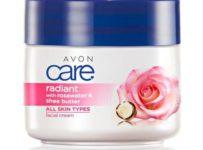 Súťaž o 3x balíček línie Avon Care s ružovou vodou a bambuckým maslom