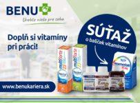 Súťaž o balíček vitamínov