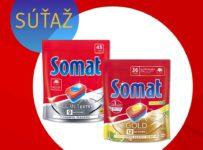 Súťaž o kompletný Somat balíček starostlivosti o riad a umývačku