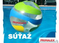 Súťaž o nafukovaciu loptu Primalex