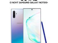 Súťaž o nový Samsung Galaxy Note10+ 256 GB