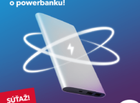 Súťaž o powerbanku od SWANu