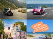 Súťaž o tri miniatúry veteránov Citroën