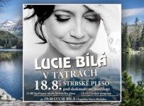 Súťaž o vstupenky na koncert Lucie Bílej v Tatrách