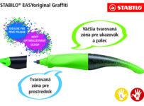 Súťaž roller Stabilo EASYoriginal Graffiti Edition