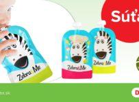 Súťaž s Dr.Max a Zebra&Me o 15 dvojbalení plniteľných kapsičiek pre deti s vlastným jedlom