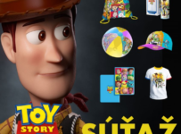 Súťaž s filmom Toy story 4