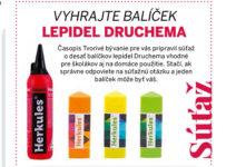 Vyhrajte balíček lepidel Druchema