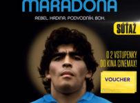 Súťaž s filmom Diego Maradona