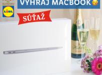 Oslávte 15 rokov Lidla na Slovensku a vyhrajte 5x MacBook Air