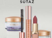 Súťaž o 12 balíčkov kozmetiky od L´Oréal Paris, každý v hodnote 40 €