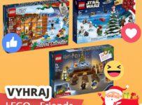 Súťaž o Adventný kalendár LEGO Friends