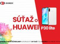 Súťaž o Huawei P30 lite