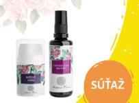 Súťaž o Kvetovú vodu a Ružový krém od Nobilis Tilia