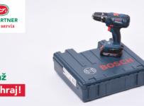 Súťaž o aku vŕtací skrutkovač zn. Bosch v hodnote 150 €