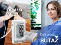 Súťaž o automatický tlakomer Microlife BP A2 AFIB